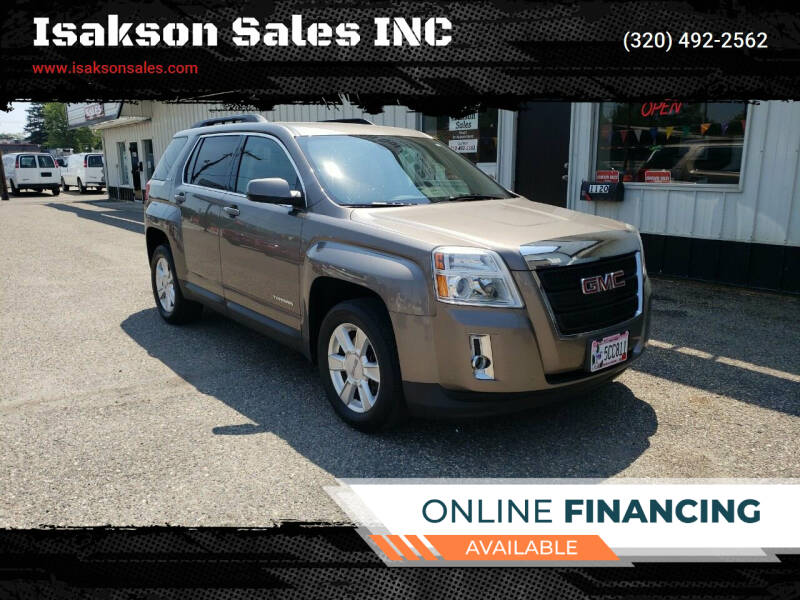 2012 GMC Terrain for sale at Isakson Sales INC in Waite Park MN