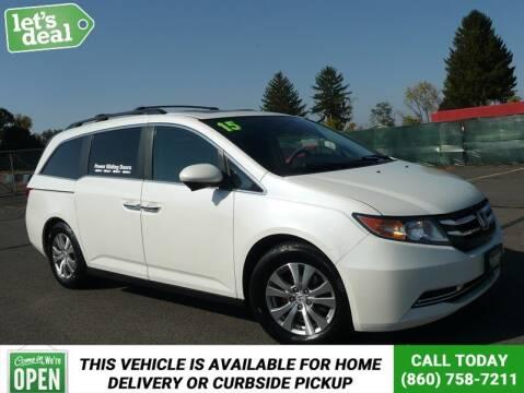 2015 Honda Odyssey for sale at Shamrock Motors in East Windsor CT