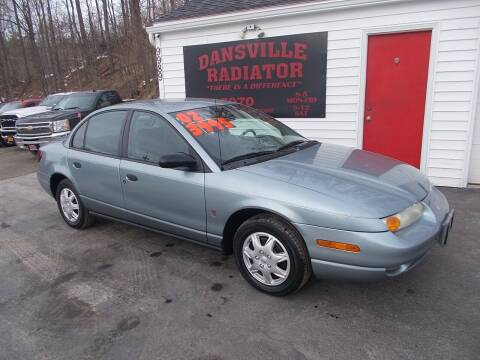 2002 Saturn S-Series for sale at Dansville Radiator in Dansville NY