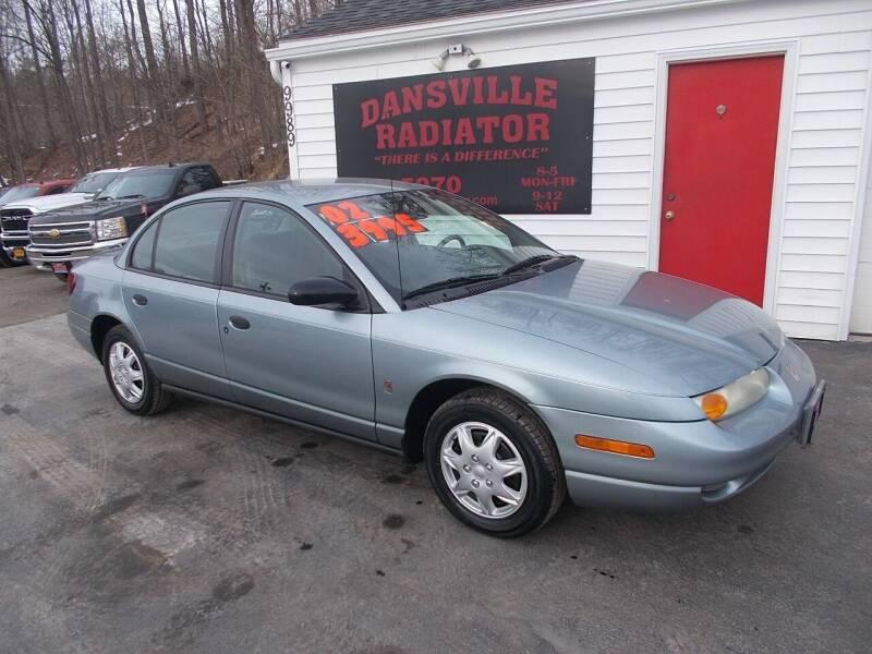 2002 Saturn S-Series for sale at Dansville Radiator in Dansville NY