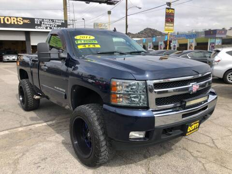 2011 Chevrolet Silverado 1500 for sale at BEST DEAL MOTORS  INC. CARS AND TRUCKS FOR SALE in Sun Valley CA