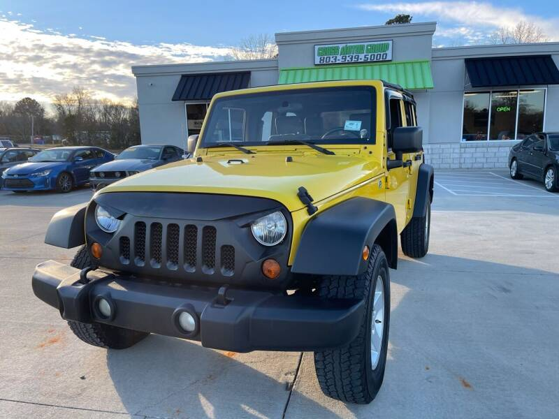 2008 Jeep Wrangler Unlimited for sale at Cross Motor Group in Rock Hill SC