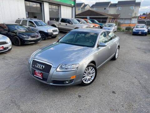 2007 Audi A6 for sale at Apex Motors Parkland in Tacoma WA