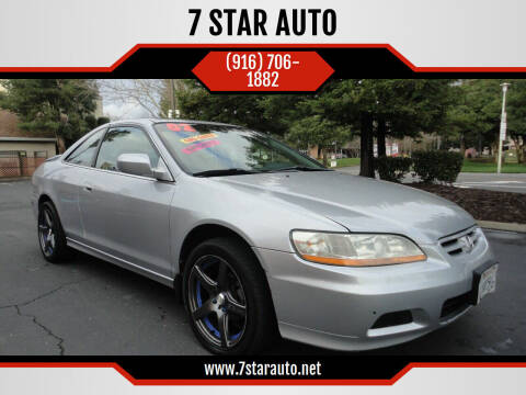 2002 Honda Accord for sale at 7 STAR AUTO in Sacramento CA