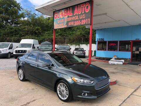 2015 Ford Fusion for sale at Global Auto Sales and Service in Nashville TN