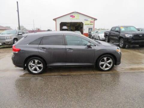 2012 Toyota Venza for sale at Jefferson St Motors in Waterloo IA