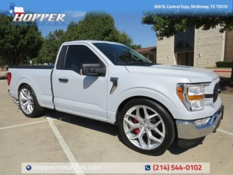 2021 Ford F-150 for sale at HOPPER MOTORPLEX in Mckinney TX