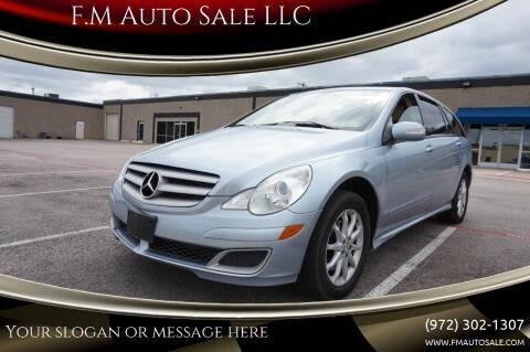2006 Mercedes-Benz R-Class for sale at F.M Auto Sale LLC in Dallas TX