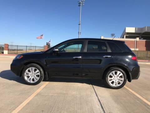 2012 Acura RDX for sale at ALL AMERICAN FINANCE AND AUTO in Houston TX