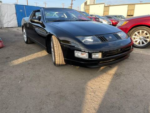 1993 Nissan 300ZX for sale at E and M Auto Sales in Bloomington CA