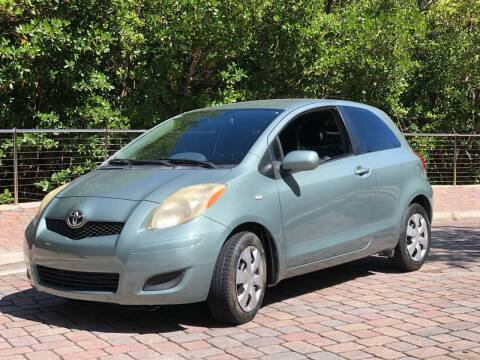 2010 Toyota Yaris for sale at L G AUTO SALES in Boynton Beach FL