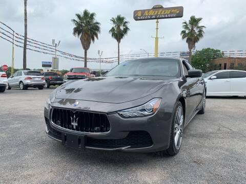 2014 Maserati Ghibli for sale at A MOTORS SALES AND FINANCE - 5630 San Pedro Ave in San Antonio TX