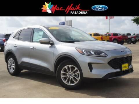 2021 Ford Escape for sale at Mac Haik Ford Pasadena in Pasadena TX