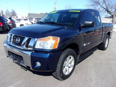 2010 Nissan Titan for sale at Ideal Auto Sales, Inc. in Waukesha WI