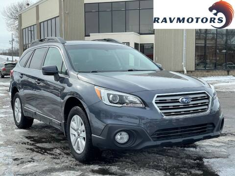 2016 Subaru Outback for sale at RAVMOTORS 2 in Crystal MN