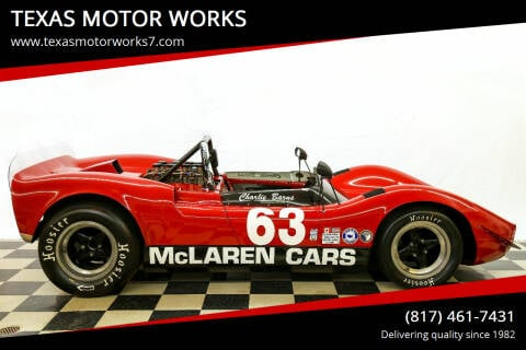 1965 McLaren M1A/B for sale at TEXAS MOTOR WORKS in Arlington TX