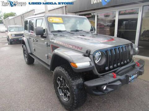 2020 Jeep Wrangler Unlimited for sale at TWIN RIVERS CHRYSLER JEEP DODGE RAM in Beatrice NE