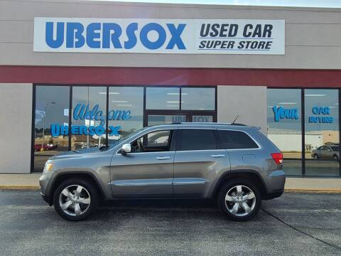 2011 Jeep Grand Cherokee for sale at Ubersox Used Car Superstore in Monroe WI