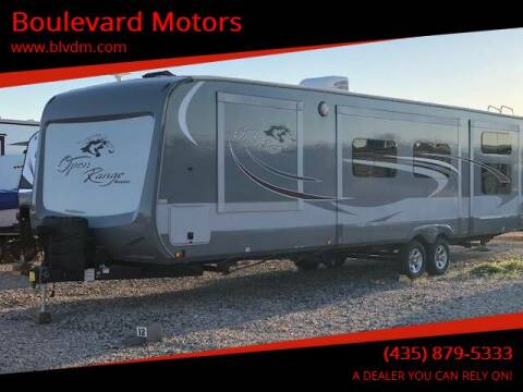 2016 HIGHLAND RIDGE ROAMER SERIES for sale at Boulevard Motors in St George UT