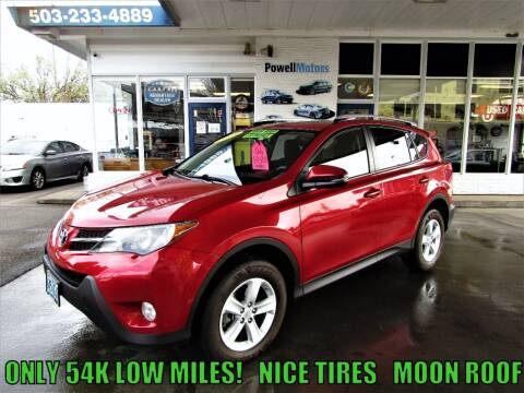 2013 Toyota RAV4 for sale at Powell Motors Inc in Portland OR