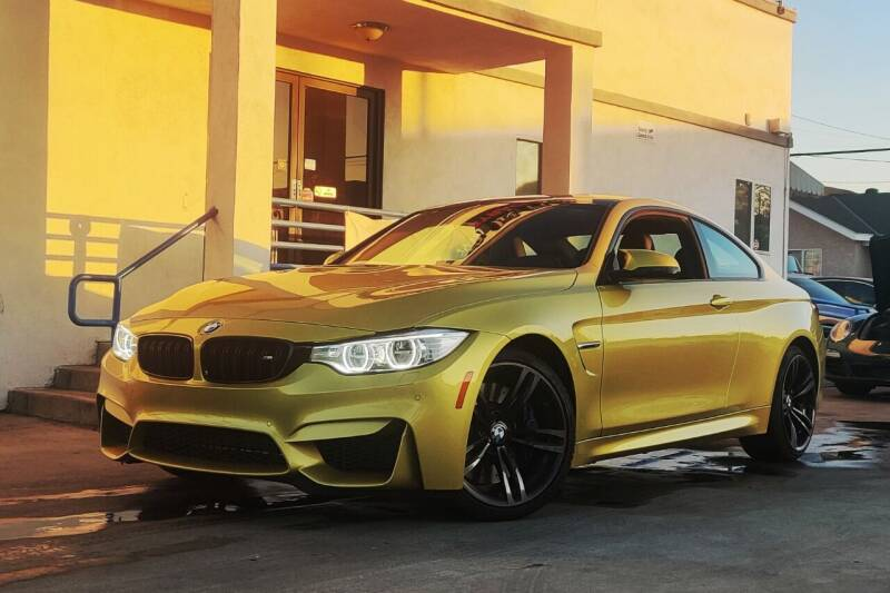 2015 BMW M4 for sale at Fastrack Auto Inc in Rosemead CA