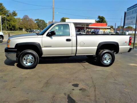 2005 Chevrolet Silverado 2500HD for sale at Steffes Motors in Council Bluffs IA