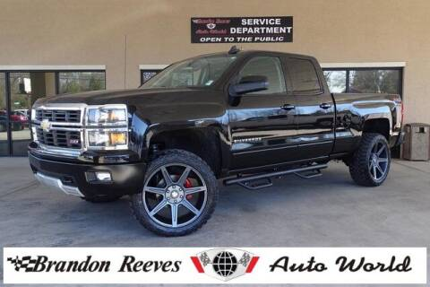 2015 Chevrolet Silverado 1500 for sale at Brandon Reeves Auto World in Monroe NC