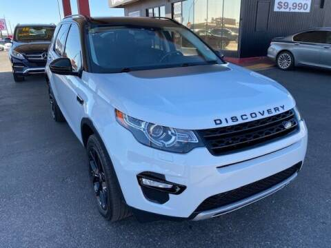 2015 Land Rover Discovery Sport for sale at JQ Motorsports East in Tucson AZ
