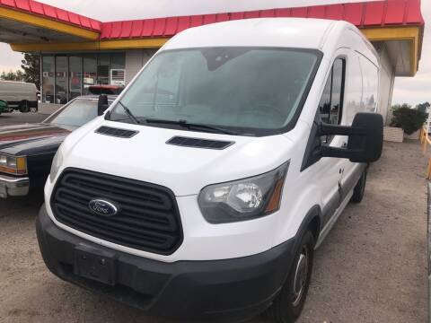 2015 Ford Transit Cargo for sale at Fiesta Motors Inc in Las Cruces NM
