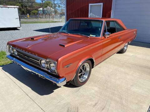 1967 Plymouth Belvedere for sale at F & A Corvette in Colonial Beach VA