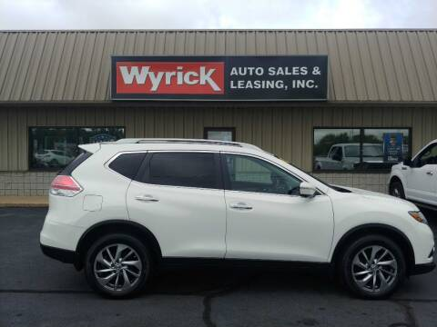 2014 Nissan Rogue for sale at Wyrick Auto Sales & Leasing-Holland in Holland MI