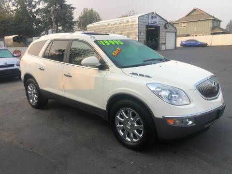 2012 Buick Enclave for sale at 3 BOYS CLASSIC TOWING and Auto Sales in Grants Pass OR