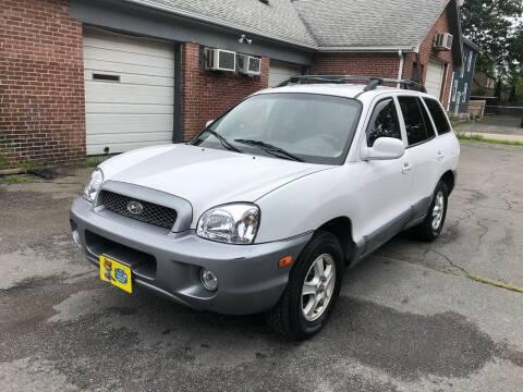 2004 Hyundai Santa Fe for sale at Emory Street Auto Sales and Service in Attleboro MA