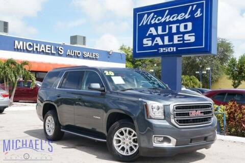 2020 GMC Yukon for sale at Michael's Auto Sales Corp in Hollywood FL