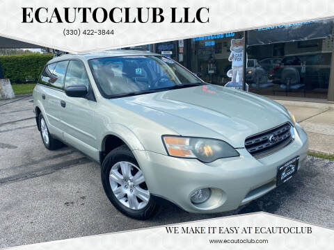2005 Subaru Outback for sale at ECAUTOCLUB LLC in Kent OH
