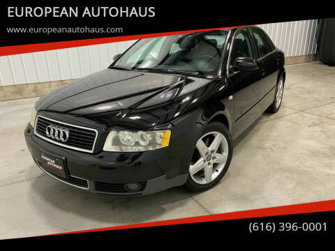 2003 Audi A4 for sale at EUROPEAN AUTOHAUS in Holland MI
