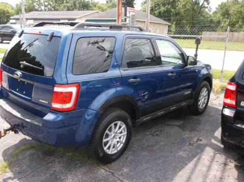 2008 Ford Escape for sale at M & N CARRAL in Osceola IN