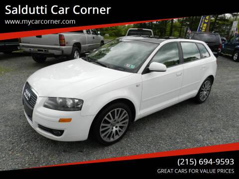 2008 Audi A3 for sale at Saldutti Car Corner in Gilbertsville PA