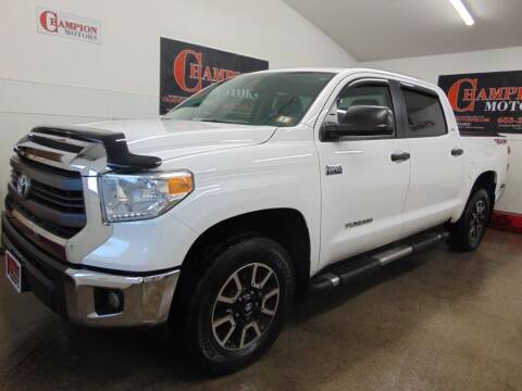 2014 Toyota Tundra for sale at Champion Motors in Amherst NH