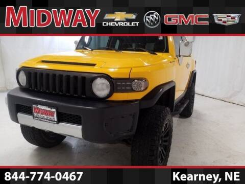 2008 Toyota FJ Cruiser for sale at Midway Auto Outlet in Kearney NE