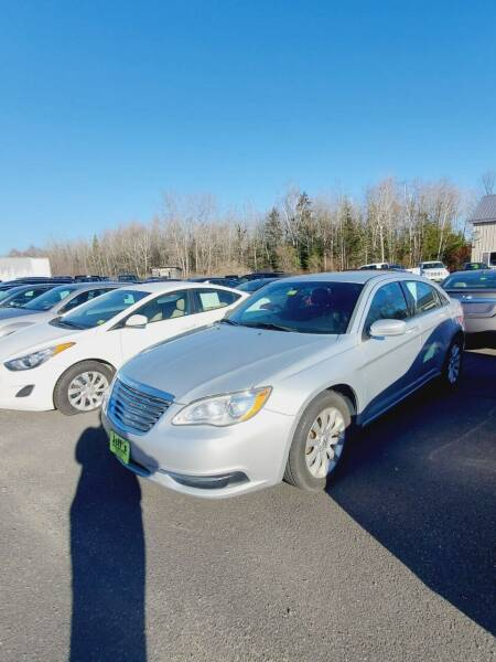 2012 Chrysler 200 for sale at Jeff's Sales & Service in Presque Isle ME
