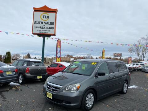 2007 Honda Odyssey for sale at TDI AUTO SALES in Boise ID