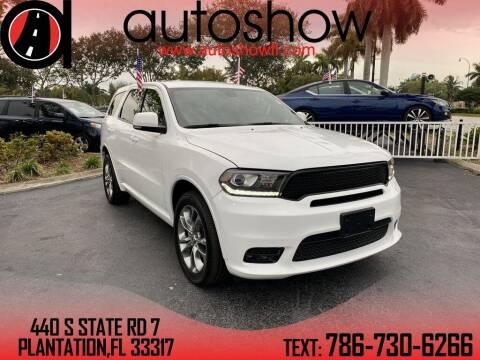 2019 Dodge Durango for sale at AUTOSHOW SALES & SERVICE in Plantation FL