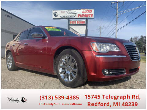 2012 Chrysler 300 for sale at The Family Auto Finance in Redford MI