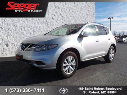2013 Nissan Murano for sale at SEEGER TOYOTA OF ST ROBERT in St Robert MO