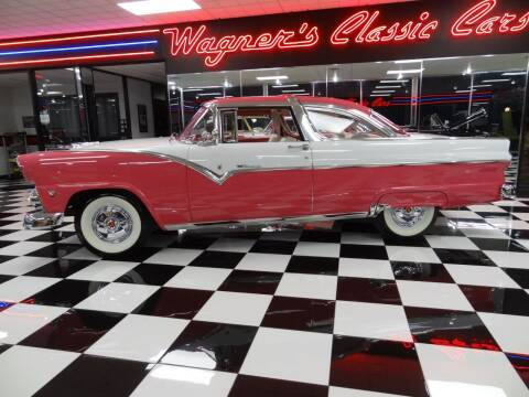 1955 Ford Crown Victoria for sale at Wagner's Classic Cars in Bonner Springs KS