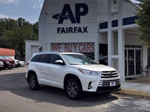 2018 Toyota Highlander for sale at AP Fairfax in Fairfax VA