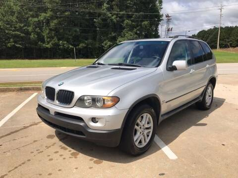 2006 BMW X5 for sale at Dreamers Auto Sales in Statham GA