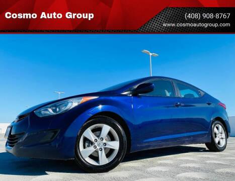 2013 Hyundai Elantra for sale at Cosmo Auto Group in San Jose CA