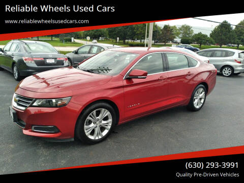2015 Chevrolet Impala for sale at Reliable Wheels Used Cars in West Chicago IL